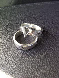 Assasins Creed Rings by Worldofjewelcraft.deviantart.com