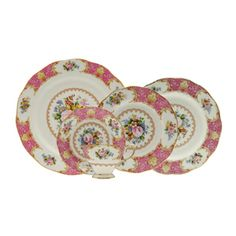 Royal Albert - Lady Carlyle 5-Piece Place Setting $89.99
