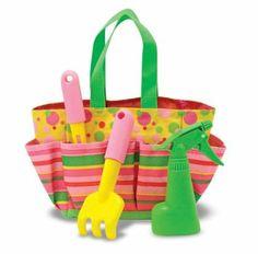 Amazon.com: Melissa & Doug Sunny Patch Blossom Bright Tote Set: Toys & Games