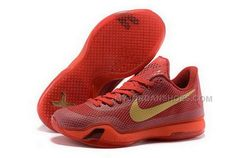 low priced 06efc 7064b Buy Cheap Nike Kobe 10 2015 Red Gold Mens Shoes, Price   99.00 - Jordan  Shoes,Air Jordan,Air Jordan Shoes