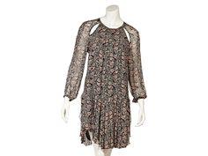 Multicolor Isabel Marant Printed Cutout Dress