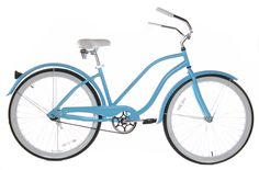 Baby Blue Beach Cruiser for me!