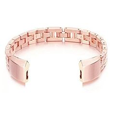 "Amazon.com : bayite Metal Bands for Fitbit Alta, Rose Gold 5.5"" - 7.8"" Style A : Sports & Outdoors"