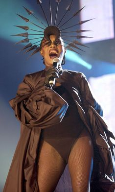 Concert For The Princes Trust, Wembley Arena, London, Britain - 11 Nov 2004, Grace Jones (Photo by Brian Rasic/Getty Images)