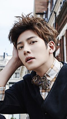 Ji Chang Wook ~ Oppa looking so handsome Asian Celebrities, Asian Actors, Korean Actors, Park Hae Jin, Park Seo Joon, Foto Face, Ji Chang Wook Photoshoot, Hong Ki, Saranghae