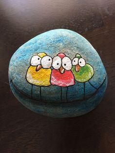 Rock Painting Ideas - Birds ...