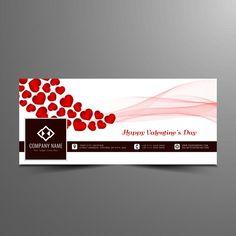ملخص عيد الحب الفيسبوك تصميم غلاف الخط الزمني نبذة مختصرة خلفية بطاقة Png والمتجهات للتحميل مجانا Timeline Covers Facebook Timeline Covers Cover Design