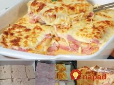 Simple, quick and tasty: Baked toasted bread with ham and cheese – delicious! Simple, quick and tasty: Baked toasted bread with ham and cheese – delicious! Pizza Recipes, Cooking Recipes, Bread Toast, Portuguese Recipes, Ham And Cheese, Baked Cheese, Love Food, Sandwiches, Easy Meals