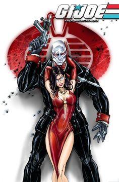 GIJOE - Destro and Baroness