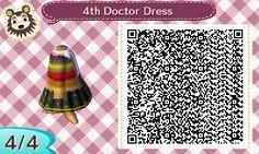Nikole's Animal Crossing Blog — 4th Doctor Dress insp. Torrid sweater based on the...