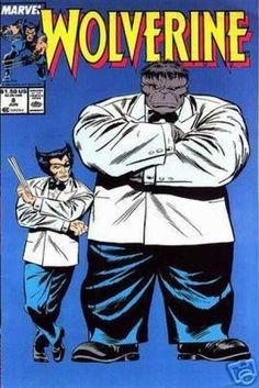 Wolverine #8 and the Hulk(Mr Fix It)