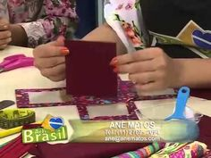 Passo a Passo - Viviane Simonetti ensina fazer uma caixa porta retrato em cartonagem - YouTube