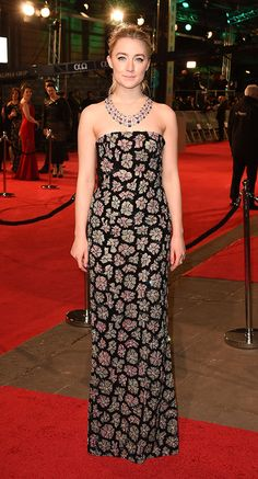 Saoirse Ronan giving us total dress envy at the Grammys.