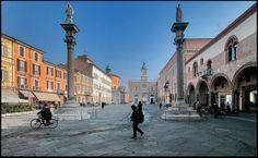 Ravenna, Piazza del Popolo - Foto di Franco Musa | Un Weekend girando l'Emilia Romagna attraverso le foto di WikiLovesMonuments 2013
