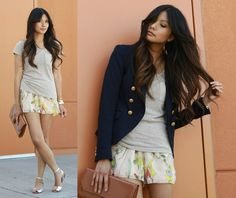 Citrine. (by Megan  Rose) http://lookbook.nu/look/3372487-citrine