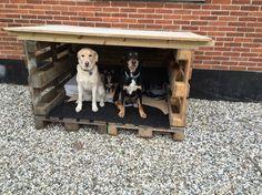 Så blev der lige bygget et lille hundehus