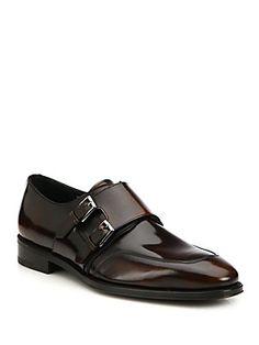 Salvatore Ferragamo Marcelo Double Monk-Strap Leather Dress Shoes. Frédéric  Roffet · Chaussures homme 053fdbd0c39