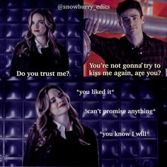 Barry And Caitlin, The Flashpoint, Flash Funny, Do You Trust Me, The Flash Grant Gustin, Red Band Society, The Cw Shows, Snowbarry, Killer Frost