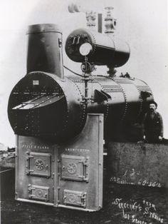 Boiler made for A.E Hilder at Upper Natone Tasmania