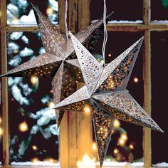 """Lichterstern """"Ornament"""", braun #Gingar #Weihnachtsdeko"""