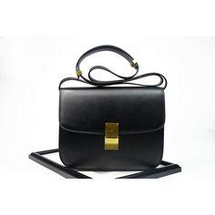 cc26f68d22  77 - Shipping Worldwide - Eldora Genuine Leather Shoulder Bag Black 76349  Women s Handbags