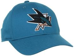 NHL San Jose Sharks Structured Flex Fit Hat, L/XL by Reebok. $12.69. Stroll to the penalty box with pride in this San Jose Sharks 2009-2010 Basic Logo Teal Structured Flex Hat. Features raised embroidered team logo on front and embroidered logo on back.