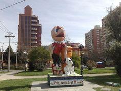 Plaza del Cómics San Miguel - Chile