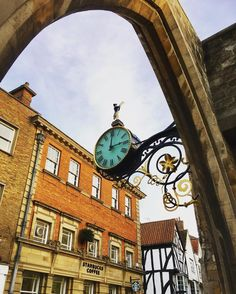 The restored #clock on St Martin le Grand #church on Coney Street in #York. This clock was designed in the 1850s and recently restored in 2011. #history #culture #architecture #IgersYork #city #urban #Yorkshire #travel #tourism #tourist #leisure #life