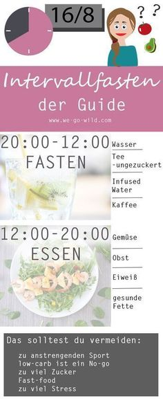 Ł Interval fasting plan - instructions for intermittent fasting + recipes - Intervall Fasten Philosophie - Diet Diet And Nutrition, Nutrition Plans, Fitness Nutrition, Health Diet, Nutrition Tracker, Nutrition Store, Healthy Life, Healthy Living, Nutrition Sportive