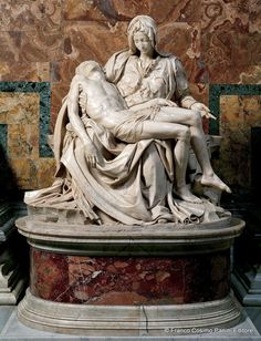 Michelangelo - The Pieta.