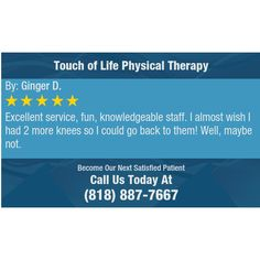 Excellent service, fun, knowledgeable staff. I almost wish I had 2 more knees so I could...