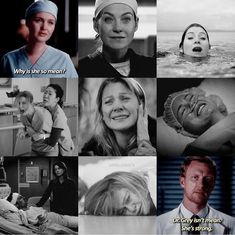 Grey no es mala. Lexie Grey, Dr Grey, Greys Anatomy Frases, Greys Anatomy Funny, Grey Anatomy Quotes, Grays Anatomy, Greys Anatomy Owen, Anatomy Humor, Greys Anatomy Couples