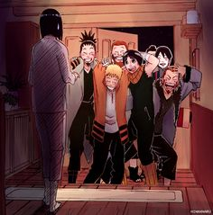Find images and videos about anime, naruto and hinata on We Heart It - the app to get lost in what you love. Anime Naruto, Naruto Comic, Naruto Uzumaki, Naruto Shippudden, Naruto Cute, Shikamaru, Naruhina, Manga Anime, Shikatema