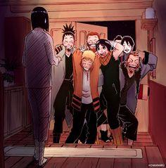 Naruto brings the guys home.