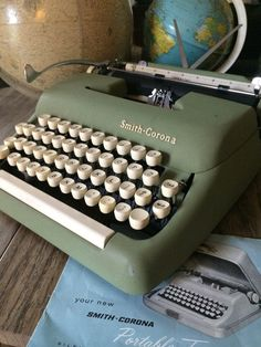 Vintage Smith Corona Sterling Typewriter-Dad got me one of these!