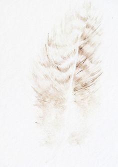 Feather Watercolor Painting by dearpumpernickel on Etsy, 88$