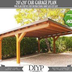 Lean To Carport, Carport Sheds, Modern Carport, Diy Carport, 2 Car Carport, Lean To Roof, Carport Plans, Garage Roof, Patio Plans