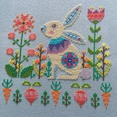 Cross Stitch Love, Cross Stitch Samplers, Cross Stitch Animals, Cross Stitch Flowers, Cross Stitching, Cross Stitch Embroidery, Modern Cross Stitch Patterns, Cross Stitch Designs, Easter Cross