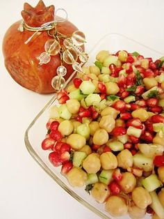 Kosherology | Granada Salad for Rosh Hashana