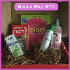 Bluum May 2014 Review #bluum #babybox http://whattheschneck.blogspot.com/2014/05/bluum-may-2014-review.html