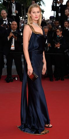 The Best of the 2015 Cannes Film Festival Red Carpet - Toni Garrn from InStyle.com