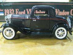 1932 Ford V8 Deluxe 3-window Coupe Die-cast 1:30 Scale Collectibles Available in Many Colors by Superior. $8.95. Made of Heavy Gauge Die-cast. Available in many colors. Opening doors & Trunk. Free Wheeling. 1:30 Scale Collectibles. This is a 1:30 Scale die-cast 1932 ford v8 deluxe 3-window coupe. Well built & comes with excellent detail in many colors.