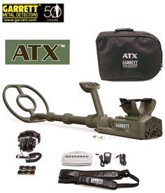 The Garrett ATX is the ultimate multi-frequency detector for. Metal Detecting Tips, Waterproof Metal Detector, Garrett Metal Detectors, Whites Metal Detectors, Gold Prospecting, Circuit Projects, Treasure Hunting, 10 Top, Gold Gold