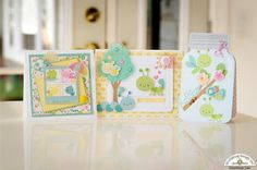 Doodlebug Design Inc Blog: Spring Things Collection: Happy Cards by Courtney Lee