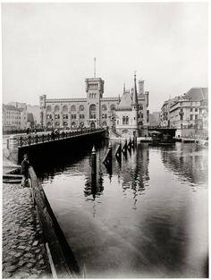 Berlin,Muehlendammbruecke,Muehlendammgebäude, 1900