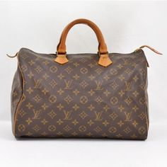 Louis Vuitton Vintage Monogram Canvas Speedy 35 City Bag