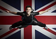 Tom Daley and that smile. Very inspiring dude. The nice body is a bonus (;