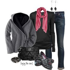 """Casually Comfortable contest entry #1"" by enjoytheview on Polyvore"