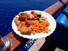 Ahoy! Lunch aboard Almira on the Red Sea, Egypt.