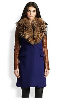 Diane von Furstenberg Women's Coats For Fall 2013